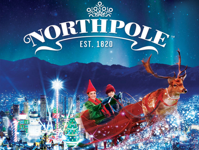 north pole movie poster