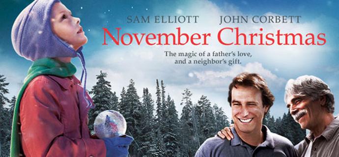 November christmas movie poster
